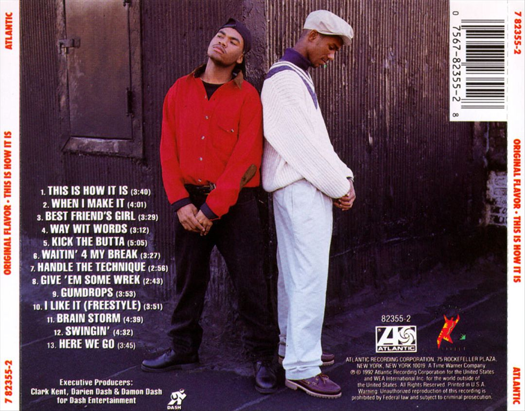 Original Flavor - This Is How It Is (Back)