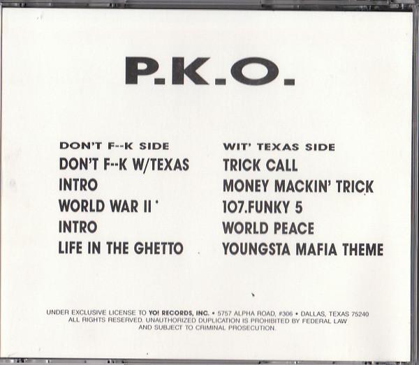 P.K.O. - Don't Fk W Texas (Back)