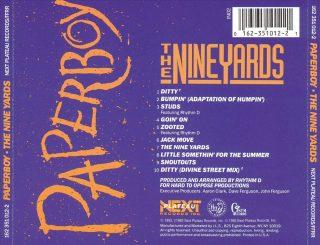 Paperboy - The Nine Yards (Back)