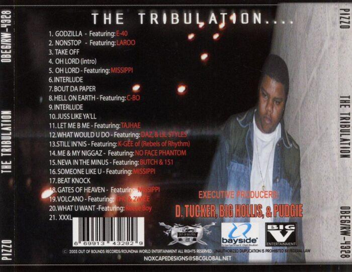 Pizzo - The Tribulation (Back)