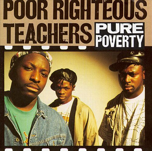 Poor Righteous Teachers - Pure Poverty (Front)