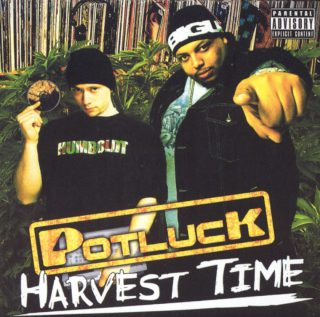 Potluck Harvest Time Front