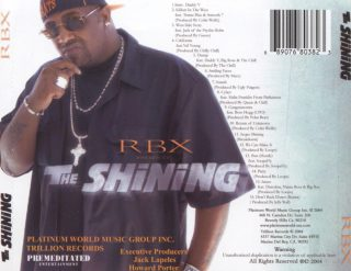 RBX - The Shining (Back)