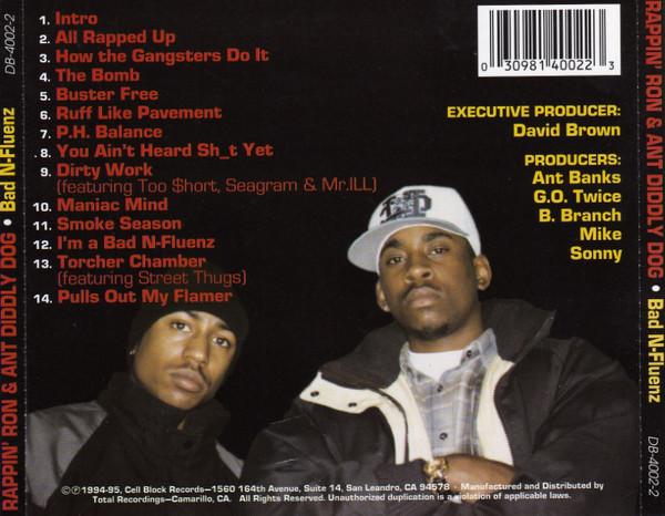 Rappin' Ron & Ant Diddley Dog - Bad N-Fluenz (Back)
