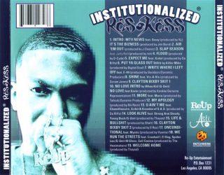 Ras Kass Institutionalized Back