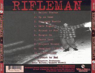 Rifleman - Riflemania (Back)
