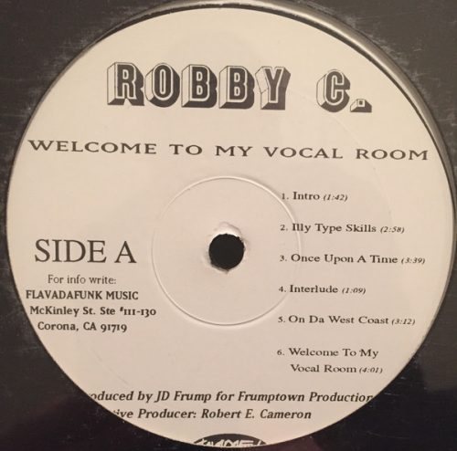 Robby C. Welcome To My Vocal Room