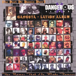Ronnie Ron - Ronnie Rons' Gangsta-Lation Album (Front)