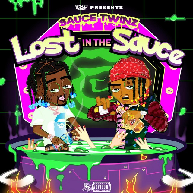 Sauce Twinz, Sauce Walka & Sancho Saucy - Lost In The Sauce