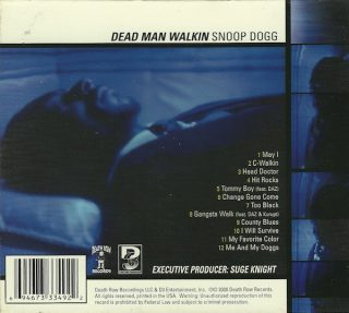 Snoop Dogg - Dead Man Walkin (Back)