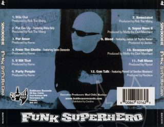 Son Doobie - Funk Superhero (Back)