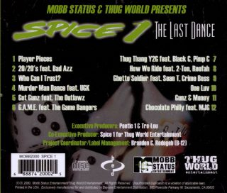 Spice 1 The Last Dance Back