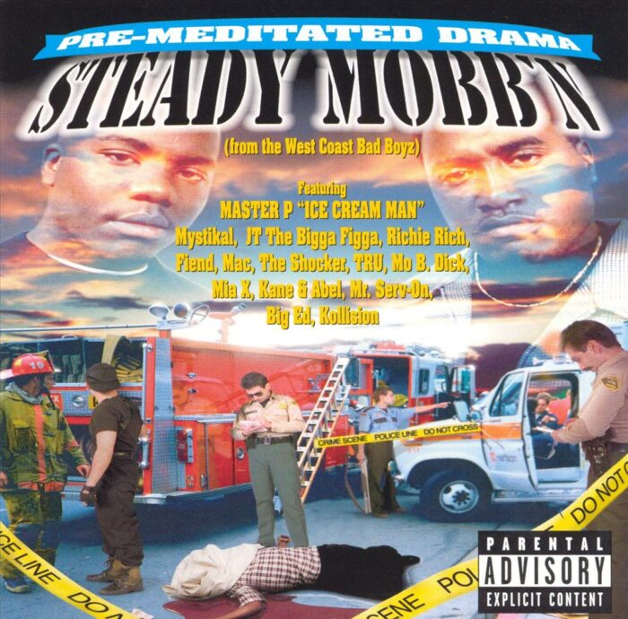 Steady Mobb'n - Pre-Meditated Drama (Front)
