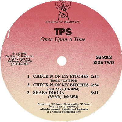 TPS - Once Upon A Time (Side Two)