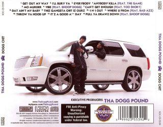Tha Dogg Pound - Dogg Chit (Back)