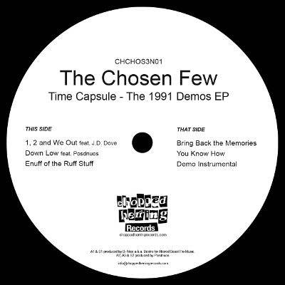 The Chosen Few - Time Capsule - The 1991 Demos EP (Inlay)