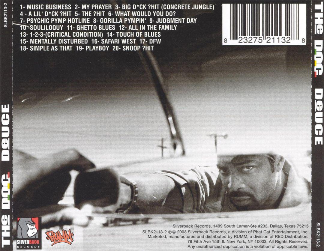 The D.O.C. - Deuce (Back)