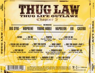 Thug Law Thug Life Outlawz Chapter 2 Back