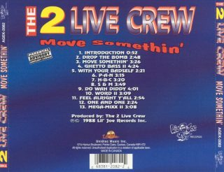 Two Live Crew - Move Somthin' (Back)