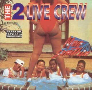 Two Live Crew - Move Somthin' (Front)