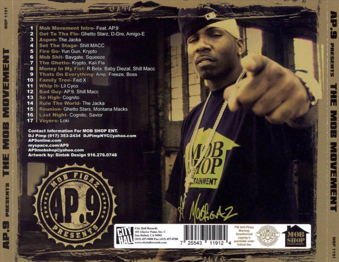Various - AP.9 Presents The Mob Movement (Back)