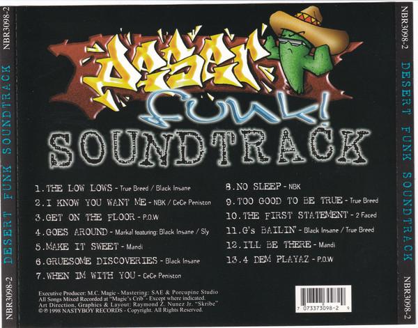 Various - Desert Funk! Soundtrack (Back)