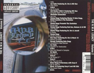 Various The N.W.A. Legacy 2 Back