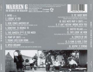 Warren G - The Return Of The Regulator (Back)