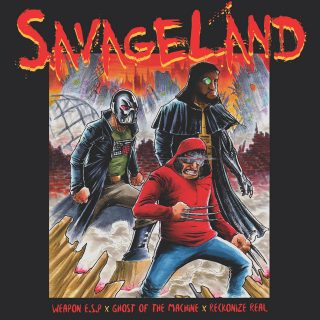 Weapon E.S.P, Ghost Of The Machine & Reckonize Real - Savageland