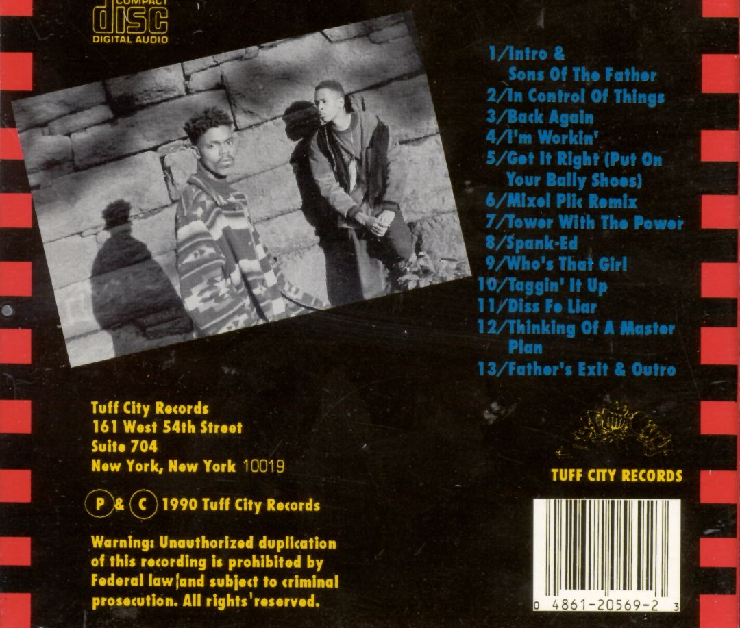 YZ - Sons Of The Father (Back)