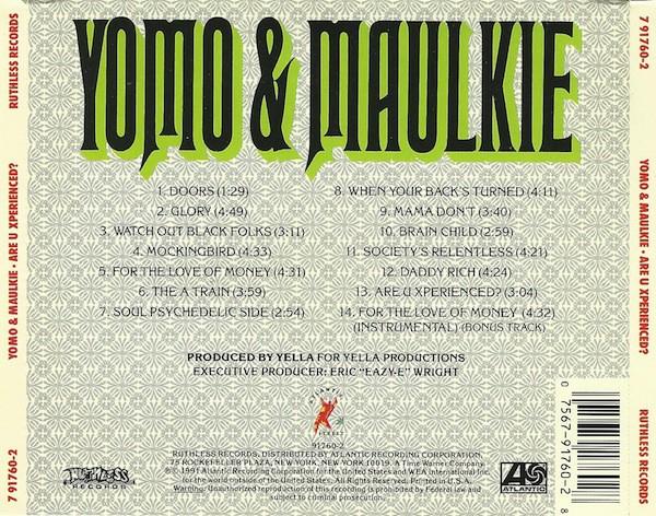 Yomo & Maulkie - Are U Xperienced (Back)