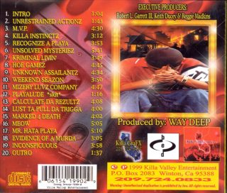 Young Droop - 1990-Hate (Back)